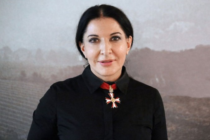 marina abramovic first picture